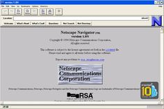 Aug 21, 1996 - Netscape Browser 3.0 is released - Whatever happened to Netscape?