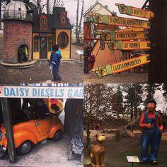Matkan varrella vierailtiin Mulle Meckin leikkipuistossa Solnassa. Viehättävän erilainen puisto jonka rakentamisessa käytetty kaikenlaista romurautaa. Ei taitais kyllä mennä läpi suomalaisissa leikkipaikkojen turvavaatimuksissa valitettavasti. #mullemeckparken #mullemeck #ruotsi #sweden #solna #leikkipuistoturisti #leikkipuisto #lekpark #playpark #kids #lastenkanssa #matkalla