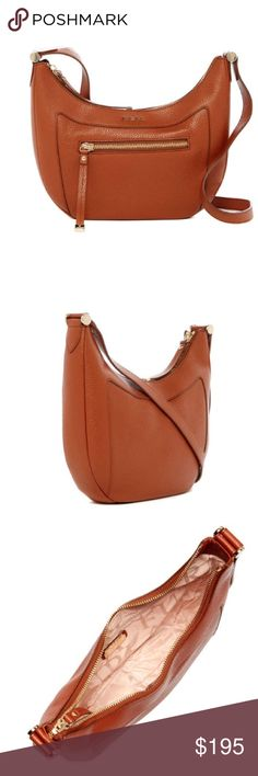 """Furla Leather Crossbody Furla Leather Crossbody.  NWT.  Gorgeous, classic and timeless handbag.  Adjustable strap.  Zip closure.  Exterior features 1 back zip pocket.  Interior features 1 zip wall pocket.  Dust bag included.  Approximately 10"""" H x 12"""" W x 2.5"""" D.  Approx: 21-22"""" strap drop.  Made in Italy.   Furla Bags Crossbody Bags"""