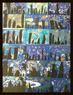 1st Grade Starry Nights!