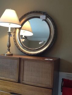Round Bevelled Mirror   The Millionaire's Daughter.   $204