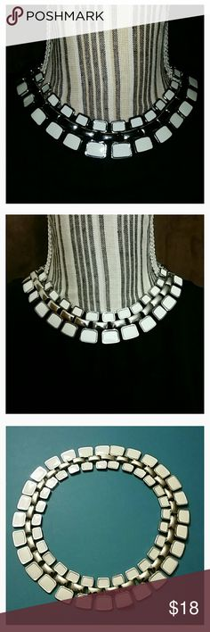 White-stone choker - White & Silver - Length: 17 inches Nordstrom Rack Jewelry Necklaces