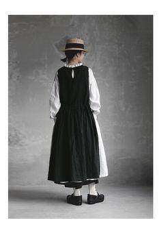 Mori Fashion, Modest Fashion, Fashion Dresses, Japanese Outfits, Japanese Fashion, Modest Outfits, Stylish Outfits, Clothes Crafts, Mode Hijab