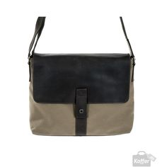 Harold's Take Away Messenger Bag Sand/Braun