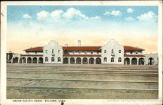 Union Pacific Train Depot Milford Utah