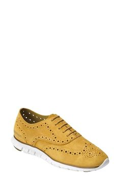 Cole Haan 'ZerøGrand' Perforated Oxford (Women) | Nordstrom