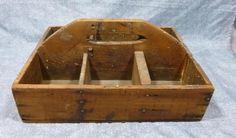 Antique primitive Farrier's nail box.    eBay