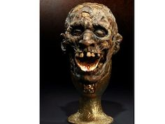 Chalice Of Kali Prop Replica from Indiana Jones The Temple Of Doom. It is made by Sideshow Collectibles and is approximately 30 cm (11.8 in) high  http://film-tv.minimodelfilmstuff.co.uk/film-tv-collectable/indiana-jones-the-temple-of-doom-chalice-of-kali-prop-replica-sideshow-collectibles-400059  Sideshow is proud to bring you the Chalice of Kali Prop Replica from 'Indiana Jones and the Temple of Doom'. Each piece of this full scale replica is individually painted and finished,...