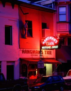 Old Hangtown Bar, now closed