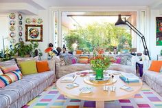 House tour: Rosita Missoni's quirky and colourful country home - Vogue Living