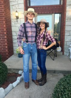 Scarecrow couples halloween costume! & Farmer and scarecrow costume for Halloween!! | Halloween | Pinterest ...