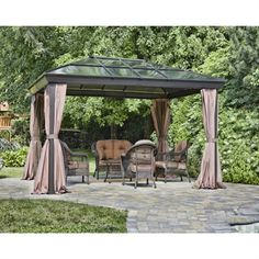 Outdoor Gazebo Lighting Impressive Target Daily Deal Gazebo Lights Just $10 Shipped  Pinterest
