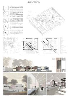 Presentation Board Design, Architecture Presentation Board, Project Presentation, Architecture Board, Concept Architecture, School Architecture, Architectural Presentation, Planer Layout, Collage Illustration