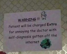 I need this hanging up in all exam rooms.