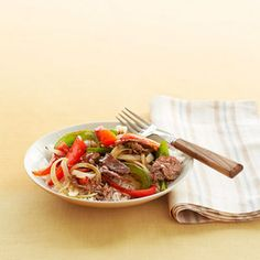 Savory Steak and Pepper Stir-Fry