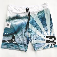 af6ad7d041 ANDY IRONS Billabong Rare Platinum PIPE MASTERS PX3 Stretch Board Shorts  Surf
