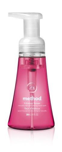 Method Foaming Hand Soap, Hibiscus Flower, 10 Fl Oz