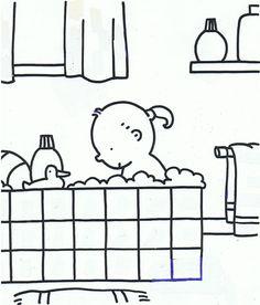 #mijn lichaam#in bad#water gastouder de Bonte Rups