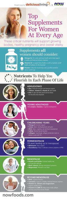 Top Supplements for Women at Every Age