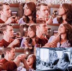 Casey: Hey! Aren't I supposed to smash it in your face or something? Dawson: Don't you dare. No. Don't. Casey: I wouldn't do that. Dawson: Don't! No-o! Don't! Casey: What? I'm not doing anything. I'm just eating my cake. (5x12)