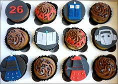 50 Doctor Who Themed Party Snacks, Drinks, and Favors for the 50th Anniversary