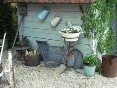 Garden, brocante