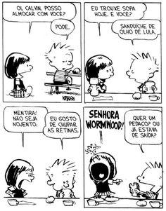 Calvin e Haroldo: Tirinha nº 18