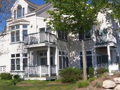 Manistee Condo Rental: Adorable First Floor Condo, Steps To Lake Michigan Beaches | HomeAway    $175/night