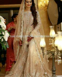 Light Dress for Nikkah