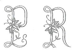 French monograms