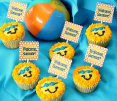 easy end of the year cupcakes | end of the year party cupcakes