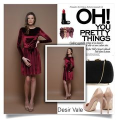 """""""Desir Vale"""" by amra-mak ❤ liked on Polyvore featuring Serpui, Rupert Sanderson and DesirVale"""