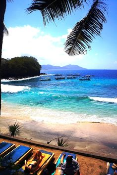 Blue Lagoon Beach; Padang Bai, Bali. Find out how you can get the cheapest Flights .. http://iwantthatflight.com.au/