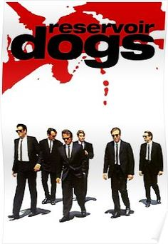 """Reservoir Dogs"" A Quentin Tarantino movie with Harvey Keitel Tim Roth Steve Buscemi Chris Penn Michael Madsen. Quentin Tarantino, Tarantino Films, Reservoir Dogs Poster, Pulp Fiction, Steve Buscemi, Bon Film, Dog Poster, Film Serie, Streaming Movies"