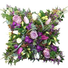 funeral cushion flowers - Google Search