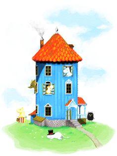 Muumitalo :) Bird, Outdoor Decor, Home Decor, Decoration Home, Room Decor, Birds, Interior Decorating