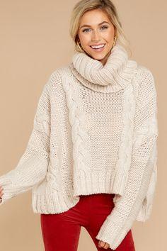 c581b9b02f Pxmoda Women s Casual Long Sleeve Turtleneck Knit Sweater Chunky Oversized  Pullover Jumper (S