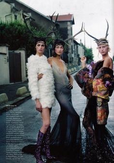 Grace Coddington, a visionária da Vogue