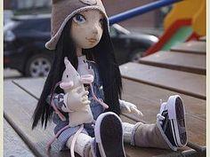 Создание текстильной куклы Лорочки. Часть 1 | Ярмарка Мастеров - ручная работа, handmade