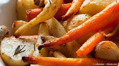 Here's a healthy roasted root vegetable recipe packed with vitamins, minerals, and other disease-fighting phytonutrients. http://recipes.mercola.com/roasted-root-vegetables-recipe.aspx
