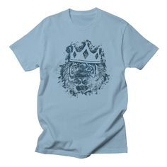 King of the Jungle 2 Men's T-Shirt by reneenee