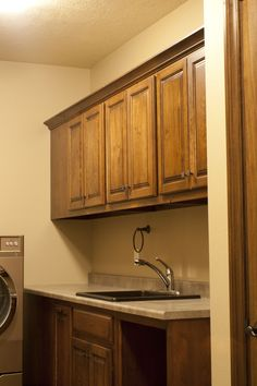 Prairie Heritage Cabinetry - Sioux Falls, SD Beautiful and functional laundry.