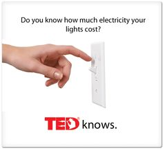 You can plug TED into any wall socket or connect it to your computer and it will tell you how much electricity is being used. helps you monitor your usage so you can seek out ways to reduce real culprits of energy drains. Will also tell you how much energy your solar/wind power is creating too.