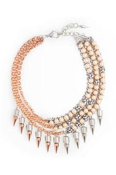 Assad Mounser spring 2014 jewelry. Statement necklace