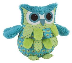Plush Pillows: Maison Chic Boys Blue Owl 10 Plush Pillow -- Want to know more, click on the image.