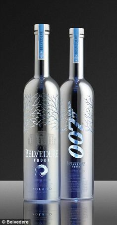 James Bond's favourite cocktail to appear in Spectre after Belvedere Vodka deal | Daily Mail Online