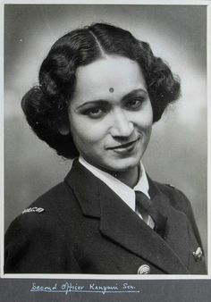 Kalyani Sen served in the Women's Royal Indian Naval Service(WRINS) during WW2. She was the first Indian servicewoman who visited the UK.(1945)
