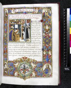 Legend and Life of Francis of Assisi (with Miracles) Italy (Florence) Medieval Manuscript, Medieval Art, Illuminated Manuscript, Francis Of Assisi, St Francis, Thomas Aquinas, Library Catalog, San Francisco, Historical Art