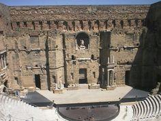 Roman Ampitheater.  Arles, France