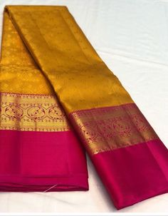 Saree Kanchi Organza Sarees, Kanjivaram Sarees Silk, Soft Silk Sarees, Wedding Saree Blouse Designs, Saree Blouse Neck Designs, Wedding Silk Saree, Indian Bridal Sarees, Indian Wedding Wear, Saree Color Combinations